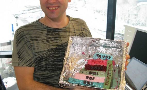 David Norheim and his semantic cake