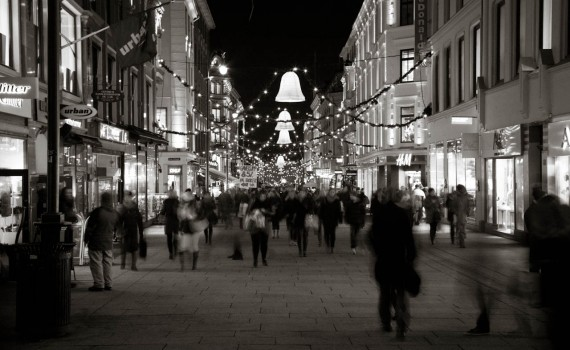 Christmas shopping in Oslo