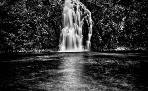 The Big waterfall (Storfossen)